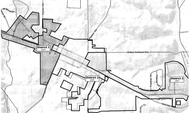 Greenville Election Districts - Ordinance 2012-TO-063